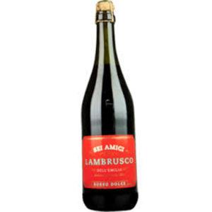 Lambrusco süß 0,75 L